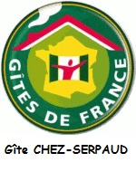 LOGO Gite de France CHEZ-SERPAUD